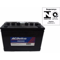 Bateria Ac Delco 90ah 12v Caixa Alta Besta Triton Pajero
