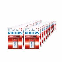 Lote De Pilas Alcalinas 9v Philips (25 Pzas)