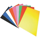 Tapas De Vinil Para Encuadernar T/carta 50 Unds Multicolores