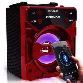 Mini Caixa De Som Portatil Mp3 Radio Bluetooth Fm Usb Recarr