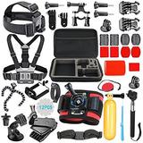 Smilepowo 42-in-1 Accessory Kit For Gopro Hero5 Black, Hero