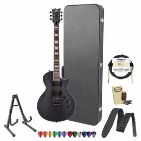 Esp Jb-ec-331-blks-kit-2 Preta Fosca Electric Guitar Pack