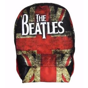 Mochila The Beatles Bandeira Reino Unido Mkls