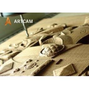 Artcam 2017 Diseño Profesional Cnc Router Fresador Madera