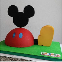 Chupetero Mickey Mouse Fiesta Infantil Mickey Mouse