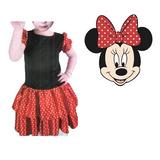 Fantasia Minnie Mouse Disney Com Saia Festas Aniversario
