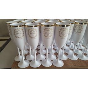 200 Taças Personalizadas Com Borda