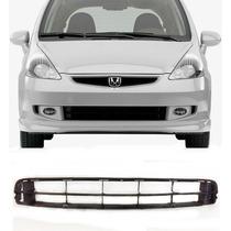 Grade Frontal Tela Parachoque Central Honda Fit 07/08