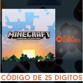 Minecraft Windows 10 Edition Cod 25 Digitos