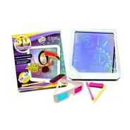 Pizarra Luminosa 3d Con Lentes Y Marcadores Fluo 22 X 20 Cm