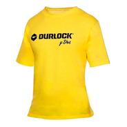 Remera Durlock Oficial® Amarilla Algodón