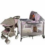Kit Bebe,coche Cuna+cuna Corral,e Baby,bebe,niños,cambiador