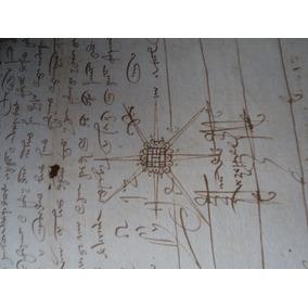 Antigo Documento Manuscrito Ano De 1519 * 3 Folhas *