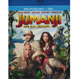 Jumanji En La Selva Welcome Jungle Pelicula Blu-ray + Dvd