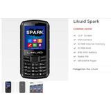 Teléfono Celular Likuid Spark Liberado Doble Sim Card