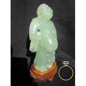 Figura Buda De Jade Abundancia Dinero Suerte Cuarzo Sanación