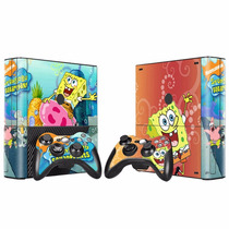 [novo] Console Skins Xbox 360 #553 Bob Esponja
