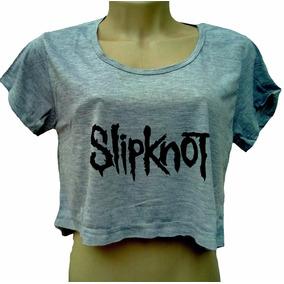 Cropped Slipknot - Camisetas e Blusas no Mercado Livre Brasil 633c307e68b8e