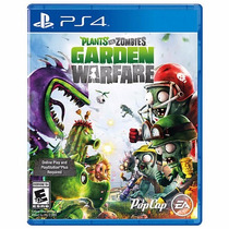 Plants Vs Zombies Garden Warfare Para Ps4 Nuevo Físico