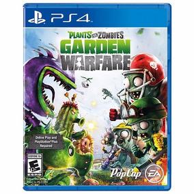Plants Vs Zombies Garden Warfare Para Ps4 Nuevo Físico