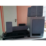 Home Theater Philips 5.1 Y Blue Ray Lg