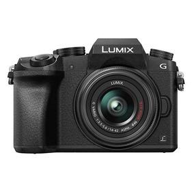 Câmera Panasonic Dmc G7k Lente 18-42mm + Bolsa Cartão Tripé