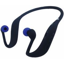Fone Bluetooth Ouvido S/ Fio Cartao Memoria 16gb Brinde