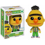 Boneco Bert Flocked Vila Sesamo - Sesame Street - Funko Pop!