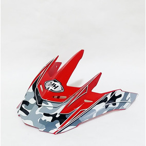 Pala Aba Visor Capacete Thh Tx22 Vermelho Motocross Trilha