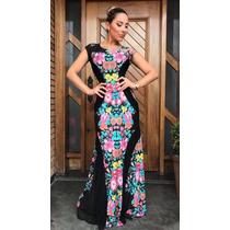Vestido Feminino Longo Viscolycra Social Casamento Blogueira