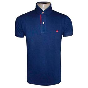 acf8af0cd613c Leilao Camisa Polo Brooksfield Azul Bebe Tam Gg - Calçados