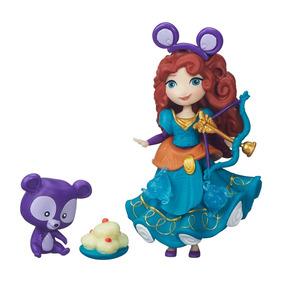 Boneca Merida - Mini Reino Princesas Disney