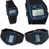 Reloj Deportivo F91w Negro