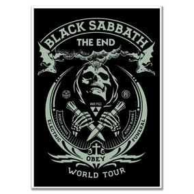 Poster Black Sabbath The End Tamanho A4 Sem Moldura