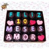 Regalo De Aniversario - Mensajes De Chocolate Todo Lima