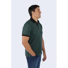Camisa Polo Dudalina Top Meia Manga Piquet Gola Cinza 5584f5cc6e160