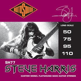 Rotosound Sh77 Steve Harris Iron Maiden Cordas Para Baixo 4
