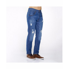 Jeans Roto Destroyer Con Strech 30-38