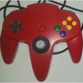 Controle De Nintendo 64 Com Analógico De Game Cube