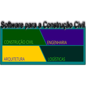 Software Para Projetos Da Construção Civil (2 Anos Liberado)