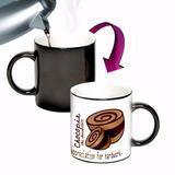 Mug Magico Con Cuchara En Ceramica