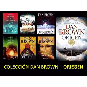 Libros De Dan Brown + Origen