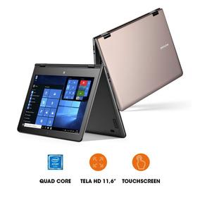 Notebook M11w Intel Quad Ram 2gb Win 10 11.6 Dourado