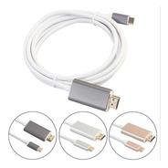 Cable Usb C Hdmi 4k Ultra Hd Reforzado Puntas Aluminio