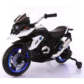 Motocicleta Elétrica Infantil Roda Led C/ Música