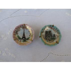 Dois Pratinhos Decorativos Comprados Em Paris