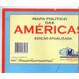 Kit 3 Mapas Américas Mundo Estados 120x90cm Você Escolhe