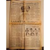 Diario La Gaceta N°26109 19 De Abril 1984