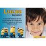 Invitaciones Imprimibles Minions Cumpleaños Incluye Tu Foto