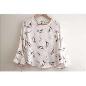 Patron Blusa Camisa Para Damas Moldes Costura S, M, L